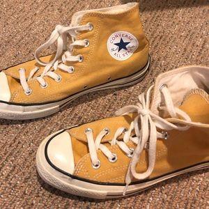 Yellow Converse '70 Hi-Tops